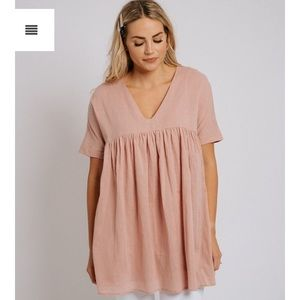 Listicle babydoll top from Shop Zoco